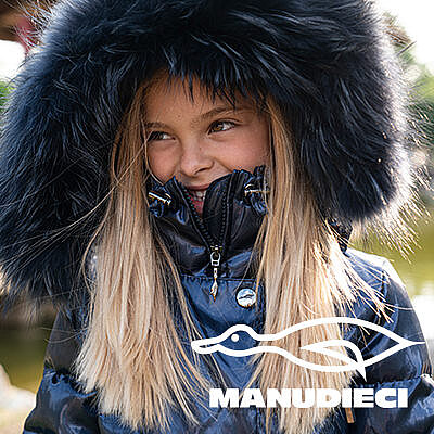 Manudieci - Стильные пуховики для вашего ребенка